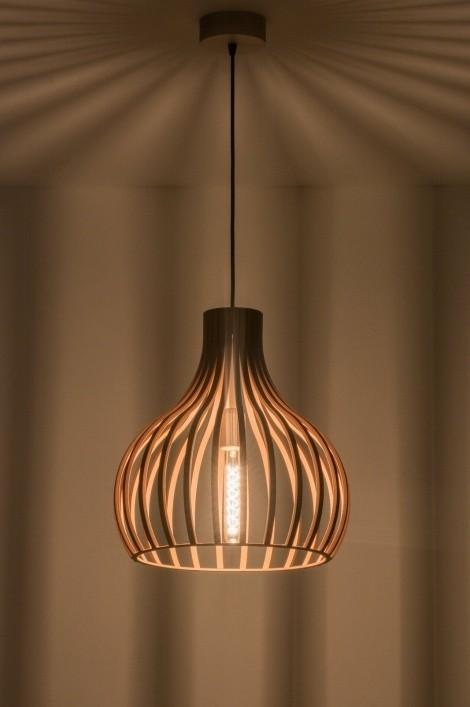 houten hanglamp serie 100 - hanglampen - the lights company