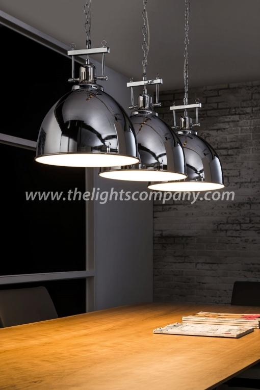 industriele hanglamp triple lights hanglampen the lights company. Black Bedroom Furniture Sets. Home Design Ideas