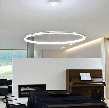 hanglamp led ring serie 100 led hanglampen the lights company. Black Bedroom Furniture Sets. Home Design Ideas