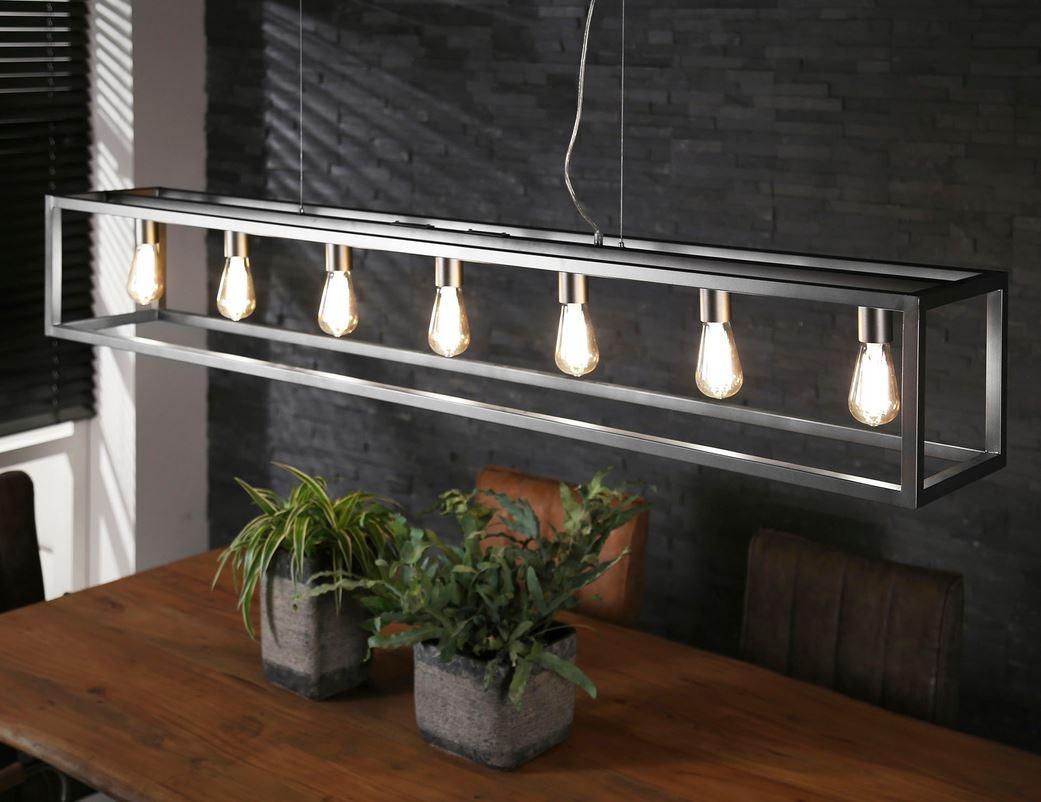 Super Hanglamp Rechthoek 4-kante Buis - 7L - Hanglampen - The Lights Company TL84