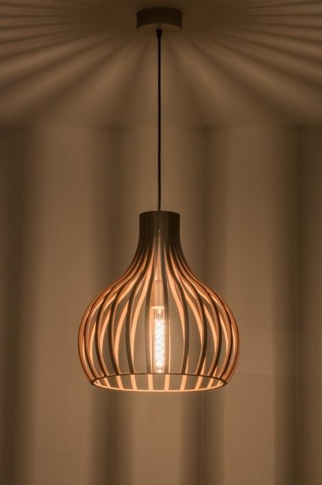 Houten Hanglamp Serie 100 Hanglampen The Lights Company