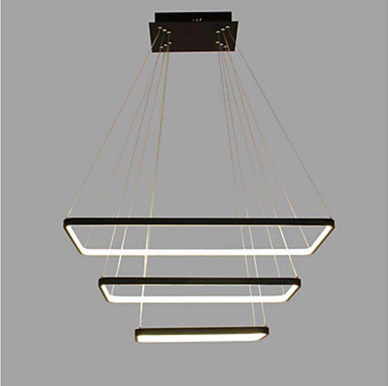 Geliefde Hanglamp - LED - Vierkant Serie 300 - LED Hanglampen - The Lights RB59