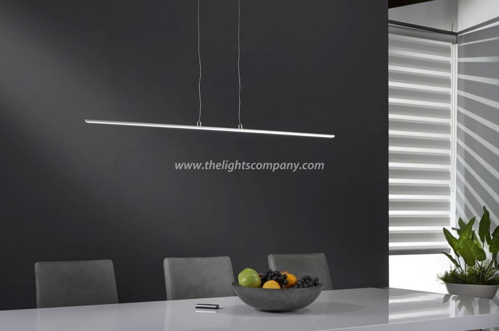 Hanglamp led dimbaar met afstandsbediening serie 100 for Led hanglampen woonkamer