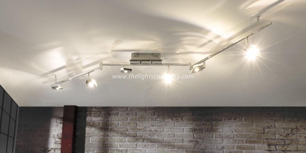Plafondlamp - LED - Rails Verstelbaar - LED Plafondlampen ...